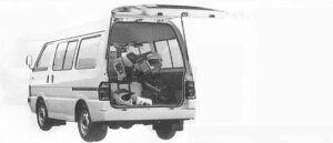 Mazda Bongo WAGON 2WD 2000 DIESEL BW 1990 г.