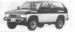Nissan Terrano 2DOOR 4WD DIESEL TURBO R3M 1990 г.