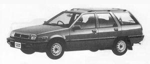 Mitsubishi Mirage WAGON 4WD 1800 DIESEL CG 1990 г.