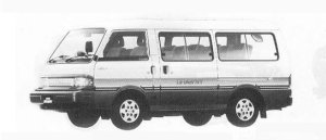Mazda Bongo BRAWNY WAGON  2000 DIESEL TURBO LIMITED 1990 г.