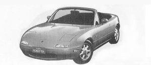 Mazda Eunos Roadster SPECIAL PACKAGE 1990 г.