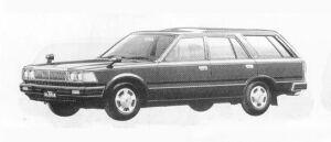 Nissan Gloria VAN 28D-6DX DIESEL 1990 г.