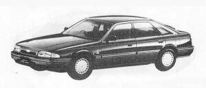 Mazda Ford Telstar TX5 1800DOHC GHIA 1990 г.