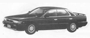 Nissan Laurel 24TWIN CAM TURBO MEDALIST CLUB S 1990 г.