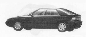 Mazda Familia ASTINA 1600DOHC 16VALVE 1990 г.