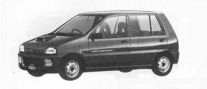 Subaru REX 5DOOR SEDAN V 1990 г.