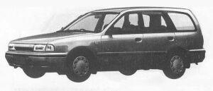 Nissan AD WAGON 4DOOR 2WD 1500LX 1990 г.