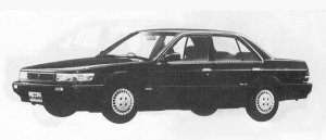 Nissan Bluebird 4DOOR SEDAN SALOON 1800 FE 1990 г.