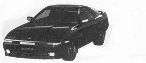 Toyota Supra 2.5GT TWIN TURBO 1990 г.
