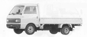 Mazda Ford Truck J100 WIDE LOW LONG BODY 2200 DIESEL 1990 г.