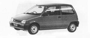 Daihatsu Mira B 1990 г.