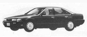 Nissan Cefiro TOWN RIDE 1990 г.
