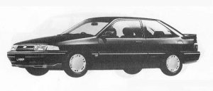 Mazda Ford Laser COUPE 1600DOHC GT-X 1990 г.