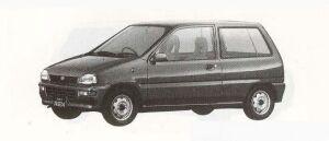 Subaru REX 3DOOR F-S 1990 г.