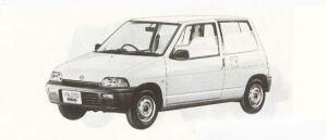 Suzuki Alto 3DOOR U 1990 г.