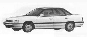 Subaru Legacy 4WD 4DOOR SEDAN 2.0L VZ 1990 г.
