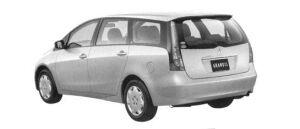 Mitsubishi Grandis Standard 2004 г.