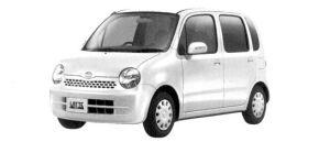 Daihatsu Move LATTE  X 2WD 2004 г.