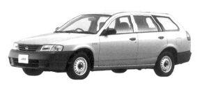Nissan AD VAN CNG 2004 г.