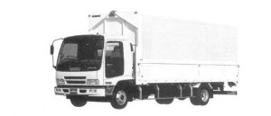 Isuzu Forward Short-Cab Smoother-F Lightweight Wing Body, 140 kW (190PS) 2004 г.