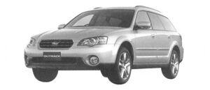 Subaru Outback 3.0R 2004 г.