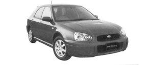 Subaru Impreza Sport Wagon 15i -S 2004 г.