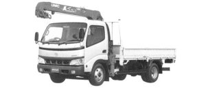Toyota Dyna Power Lift Car 2004 г.
