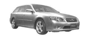 Subaru Legacy TOURING WAGON 2.0R 2004 г.