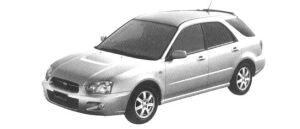 Subaru Impreza Sport Wagon 15i 2004 г.