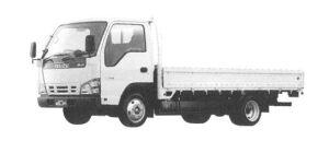 Isuzu Elf CNG, Wide Cab Flat Low Long Body 2004 г.