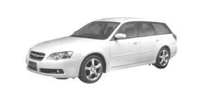 Subaru Legacy TOURING WAGON 3.0R 2004 г.