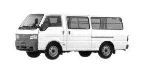 Mazda Bongo Brawny VAN Low Floor, 2WD, Long Body,  3/6-seater, 2000 Gasoline, 5 Door, DX 2004 г.