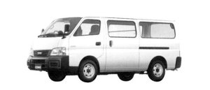 Isuzu Como Super Long Van, High Roof, 4WD LD, 3 or 6 passengers 2004 г.