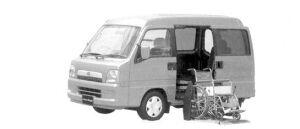 Subaru Sambar Dias Wagon Trans Care Electric Lifter 2004 г.