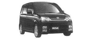 Daihatsu Move CUSTOM RS Limited 2WD 2004 г.