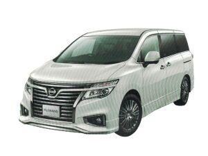Nissan Elgrand 250 Highway STAR Premium Urban CHROME (2WD 7 Passenger) 2020 г.