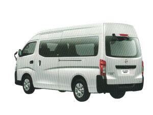 Nissan NV350 Caravan Van DX (2WD, Gasoline) Super Long Body, High Roof, Standard Width, Low Floor, 9-passenger, 4 Doors 2020 г.