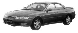 Toyota Carina ED GT EXCITING VERSION 1997 г.