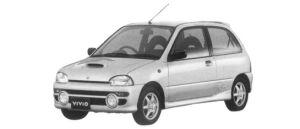 Subaru Vivio 3DOOR RX-R 1997 г.