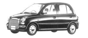 Mitsubishi Minica TOWN BEE 3DOOR 2WD 1997 г.