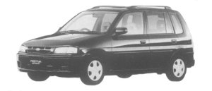 Mazda Ford Festiva MINI WAGON 1300 JX 1997 г.