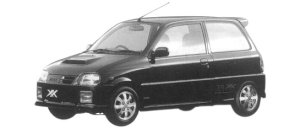 Daihatsu Mira TURBO TR-XX AVANZATO 1997 г.