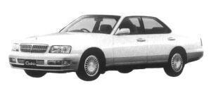 Nissan Cedric V30 TWINCAM TURBO BRAUHAM VIP 1997 г.