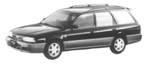 Nissan Avenir SALUT GT TURBO LIMITED 1997 г.