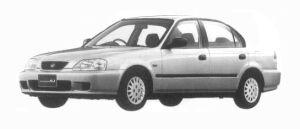 Honda Integra SJ EXi 1997 г.