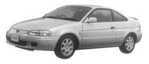 Toyota Cynos 1.3 a 1997 г.