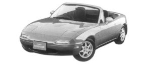 Mazda Eunos Roadster SPECIAL PACKAGE CAR 1997 г.