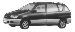 Toyota Ipsum 4WD S-SELECTION 1997 г.