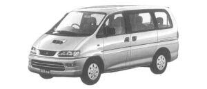 MITSUBISHI DELICA 1997 г.