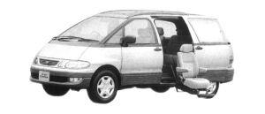 Toyota Estima Emina WELCAB, SIDE LIFT-UP SEAT CAR 1997 г.